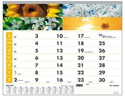 Maandkalender 2018 motief vier seizoenen