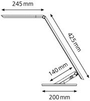 Bureaulamp Hansa ledlamp Excellence wit-3