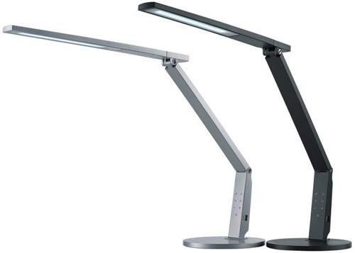 Bureaulamp Hansa led Vario Plus zilvergrijs-1