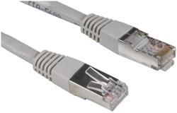 Kabel Hama CAT5e STP 15m grijs bulkverpakking