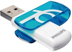 USB-stick 2.0 Philips Vivid 16GB blauw