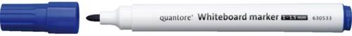 Whiteboardstift Quantore rond 1-1.5mm blauw