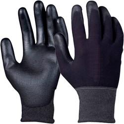 Handschoen grip PU-flex zwart extra large
