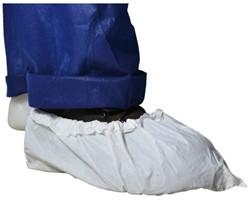 Overschoenen versterkt PE wit