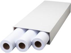 Inkjetpapier Fastprint Plot 610mmx50m 90gr extra
