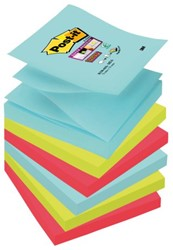 Memoblok 3M Post-it Z-Note S330-6MI 76x76mm Super Sticky Mia