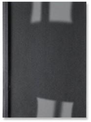 Thermische omslag GBC A4 3mm linnen zwart 100stuks