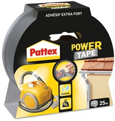 Plakband Pattex Power Tape 50mmx25m grijs