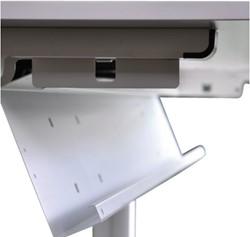 Kabelgoot NPO universeel 160cm aluminiumlook