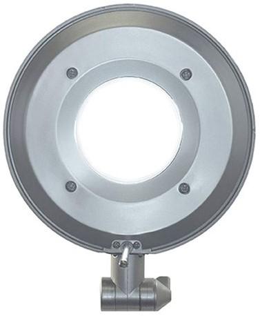Bureaulamp Maul Business ledlamp met voet zilvergrijs