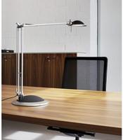Bureaulamp Maul Business ledlamp met voet zilvergrijs-2