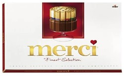 Chocolade Merci Finest selection 400gr