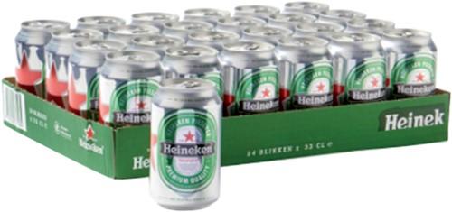 Bier Heineken blikje 0.33l-1