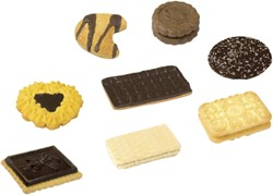 Koekjes Koekmix Delicious assorti 120 stuks