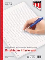 Interieur Quantore A4 23-rings gelinieerd 150vel