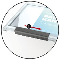 Badge Durable 8922 Pushbox mono
