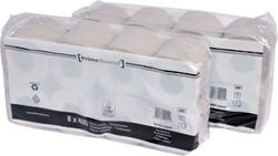 Toiletpapier PrimeSource Duo 1laags 400vel 64 rollen