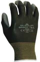 Handschoen Showa B0502 grip nylon zwart extra large