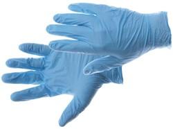 Handschoen PrimeSource Nitril ongepoederd Large blauw