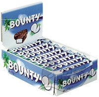 Bounty repen single 57gr 24 stuks