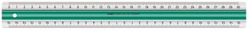 Liniaal Linex super S30 300mm transparant