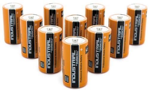 Batterij Industrial C alkaline doos à 10 stuks