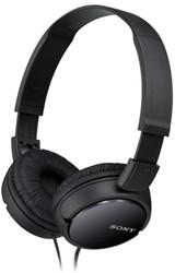 Hoofdtelefoon Sony on ear ZX110 zwart