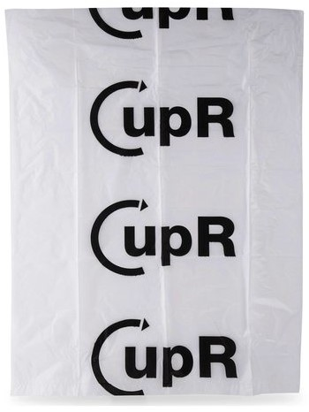 Afvalzak CupR 60x80cm 23micron 60liter 20rolx25stuks