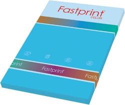 Kopieerpapier Fastprint A4 120gr azuurblauw 100vel