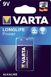 Batterij Varta Longlife Power 9Volt