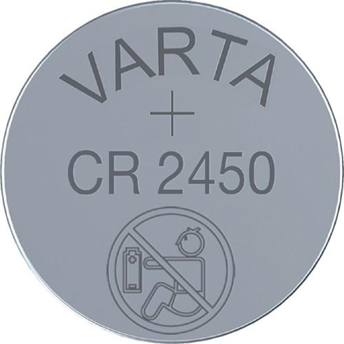 Batterij Varta knoopcel CR2450 lithium blister à 1stuk-2