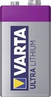 Batterij Varta Ultra lithium 9Volt