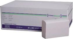 Handdoek PrimeSource Interfold 2laags 21x24cm 4000st.