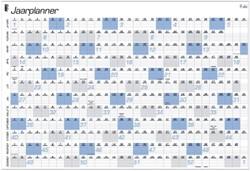 Jaarplankalender 2019 Quantore A1 84x57cm
