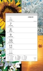 Weekkalender 2019 Quantore motief vier seizoenen