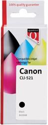 Inkcartridge Quantore Canon CLI-521 zwart+chip