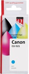 Inkcartridge Quantore Canon CLI-521 blauw+chip