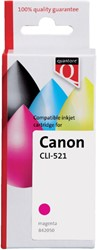 Inkcartridge Quantore Canon CLI-521 rood+chip