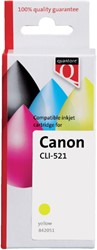 Inkcartridge Quantore Canon CLI-521 geel+chip