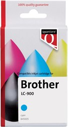 Inkcartridge Quantore Brother LC-900 blauw