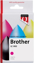 Inkcartridge Quantore Brother LC-900 rood