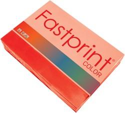 Kopieerpapier Fastprint A3 120gr felrood 250vel