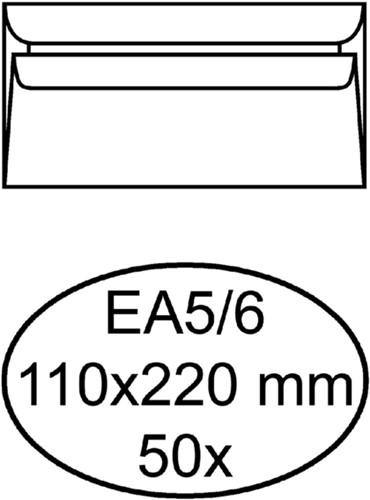 Envelop Quantore excellent bank EA5/6 110x220 120gr wit