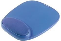 Muismat met polssteun Kensington foam blauw