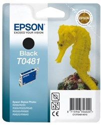 Inkcartridge Epson T0481 zwart