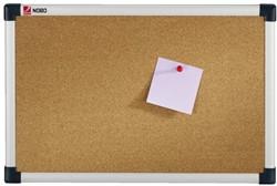Prikbord Nobo 60x45cm kurk retailverpakking