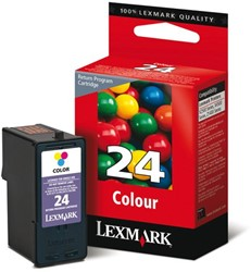 Inkcartridge Lexmark 18C1524E 24 prebate kleur
