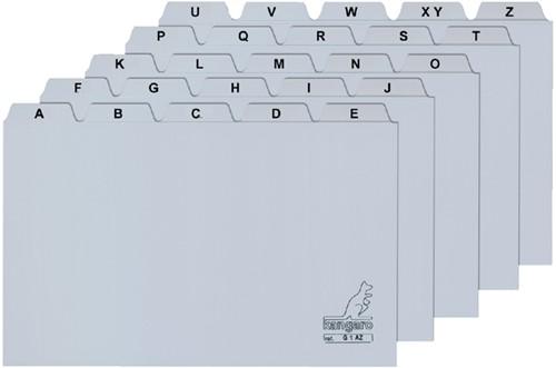 Alfabet HF2 160x200mm PP grijs