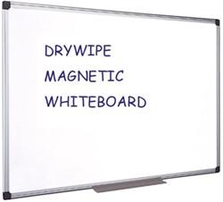 Whiteboard Quantore 60x90cm magnetisch gelakt staal