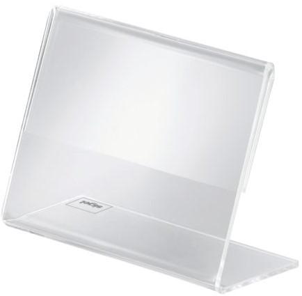 Tafelstandaard Sigel PA107 90x60mm liggend transparant-3